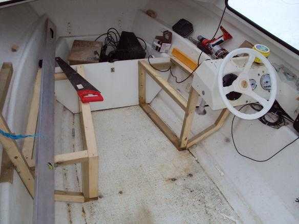 Lage innredning båt
