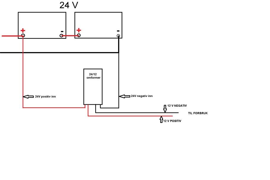 Hvordan lade 24 volt
