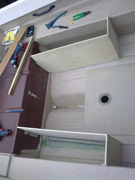 Plastplater til båt