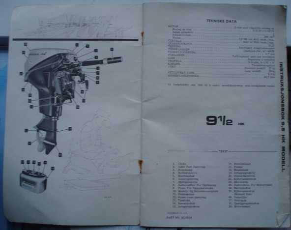 Johnson påhengsmotor instruksjonsbok
