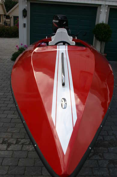Male om glassfiberskrog med Bengalack - side - Båtforumet