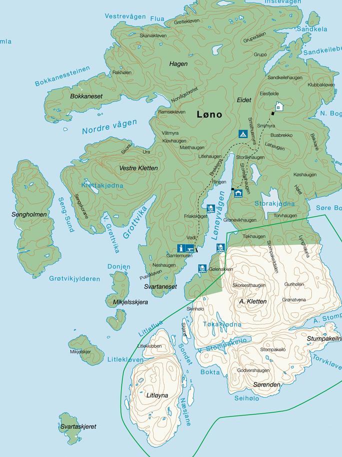 kart over fjell kommune Løno i Fjell kommune vest for Sotra   Båtforumet   baatplassen.no  kart over fjell kommune