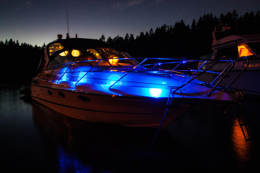 led lamper båt