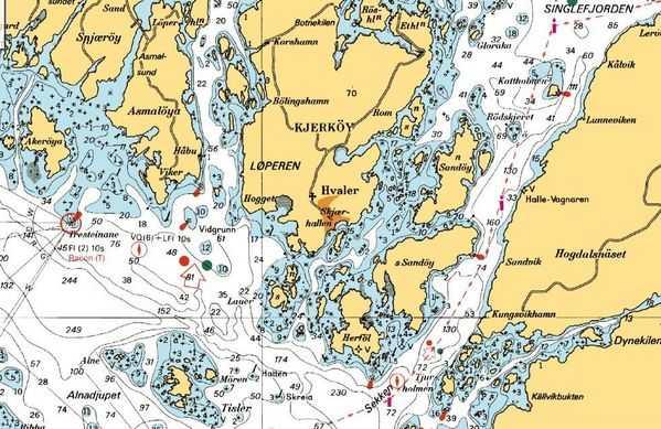 nordre sandøy kart Oslo   Strømstad, forslag til reiserute?   Båtforumet  nordre sandøy kart